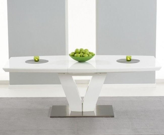 White Gloss Dining Tables 120Cm For Latest 21 Best Our Brand New Glass Range Images On Pinterest White Gloss (View 9 of 20)