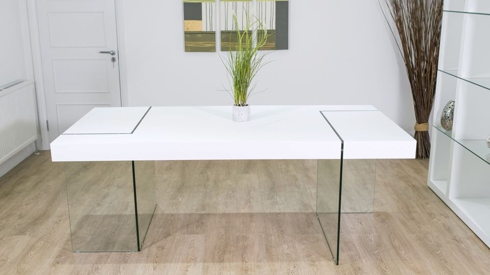 White Oak Dining Table (View 14 of 20)