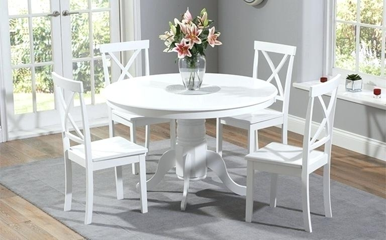 White Table Furniture Dining Table White Table Fantastic Furniture With Well Known White Dining Tables Sets (View 20 of 20)