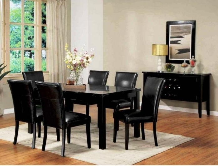 Widely Used 10 Modern Dining Room Sets With Awesome Upholstery – Rilane For Cream Lacquer Dining Tables (View 20 of 20)