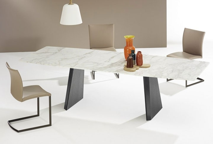 Widely Used 22 Extendable Dining Tables – Vurni With Extending Marble Dining Tables (View 16 of 20)