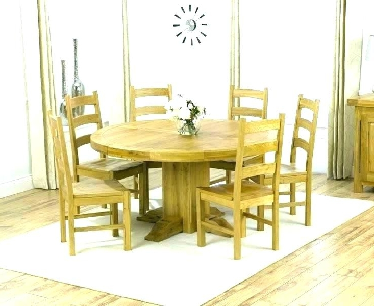 Widely Used 6 Seat Round Dining Tables Throughout Kitchen Table Seats 6 Round Kitchen Table For 8 Kitchen Table Oval (View 19 of 20)