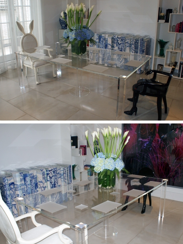 Widely Used Acrylic Dining Tables Throughout Perspex Fabrication And Acrylic Fabrication – Perspex Furniture (View 19 of 20)