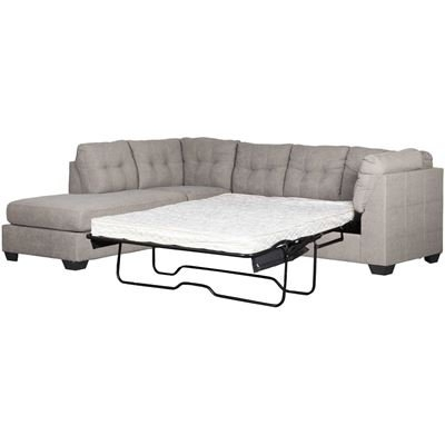 Widely Used Arrowmask 2 Piece Sectionals With Sleeper & Right Facing Chaise Pertaining To Maier Charcoal 2 Piece Sectional With Laf Chaise (View 15 of 15)