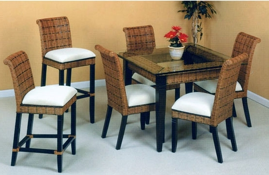 Widely Used Bali Rattan Dining Suite From Summit Design (View 20 of 20)