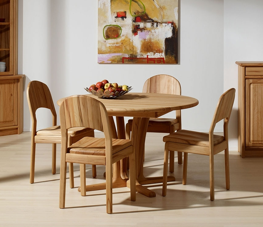 Widely Used Beech Dining Tables And Chairs For Traditional Round Teak Dining Table Cd (View 20 of 20)