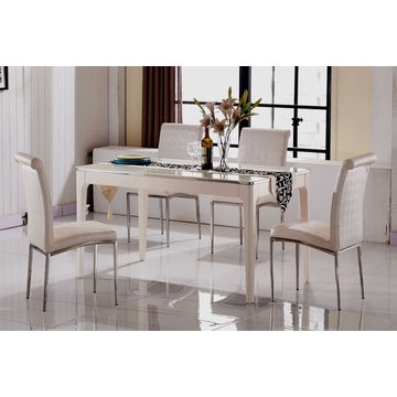 Widely Used China Cheap Marble Top Dining Table Sets,6 Seater Dining Table For 6 Seat Dining Table Sets (View 20 of 20)