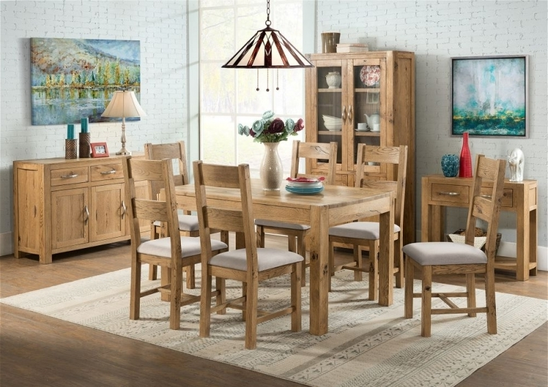 Widely Used Como Dining Tables Pertaining To Buy Devonshire Como Oak Rectangular Extending Dining Table – 125Cm (View 19 of 20)
