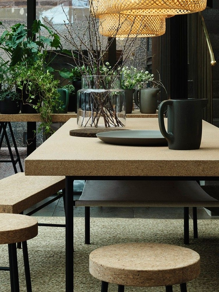 Widely Used Cork Dining Tables Intended For Cork: The Natural Choice For Interiors In  (View 19 of 20)
