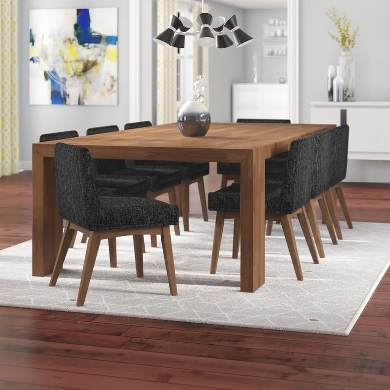 Widely Used Corrigan Studio Crume 9 Piece Dining Set (View 20 of 20)