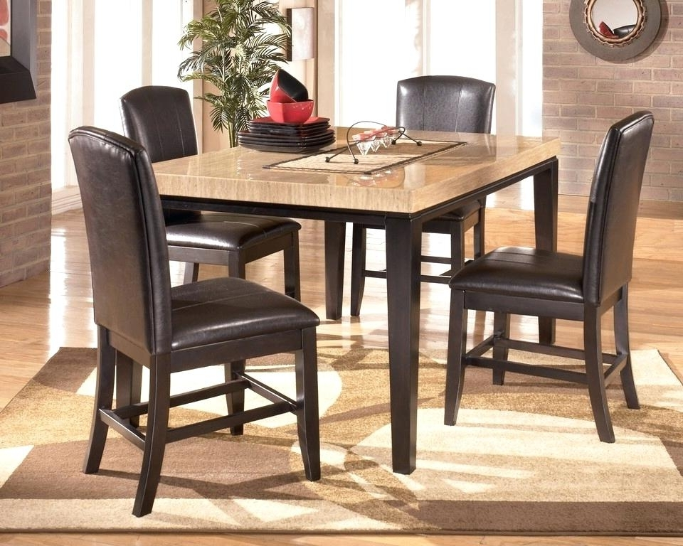 Widely Used Counter Height Dining Room Table And Chairs Bar High Dining Table Throughout Hyland 5 Piece Counter Sets With Stools (View 20 of 20)
