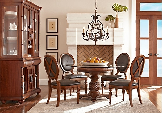 Widely Used Crawford 6 Piece Rectangle Dining Sets Throughout  (View 20 of 20)