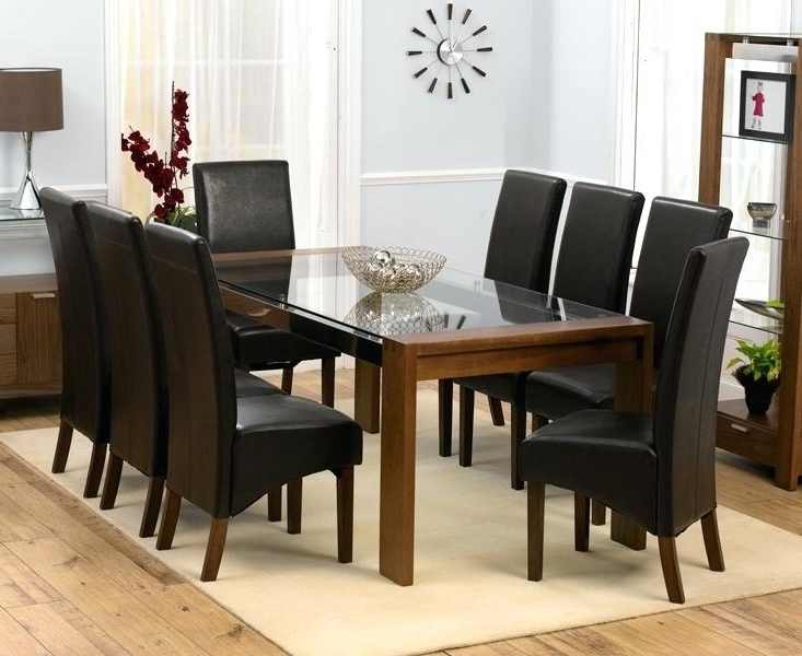 Widely Used Dining Table And 8 Chairs 8 Seat Dining Room Set Dining Table With 8 Intended For 8 Chairs Dining Sets (View 20 of 20)