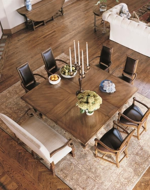 Widely Used Dining Tables For Eight In Square Table For Eight Century Classics Square To Square Dining (View 19 of 20)