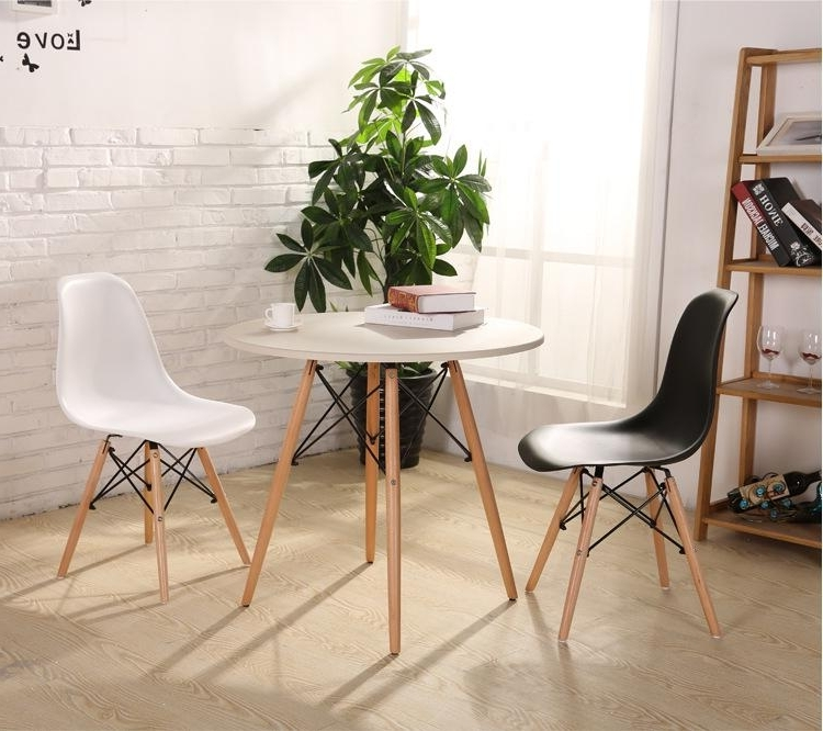 Widely Used Fashion Simple Plastic Creative Leisure Coffee Plastic Tables Chairs With Stylish Dining Chairs (View 20 of 20)