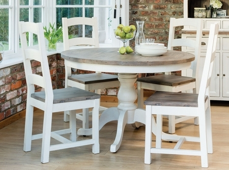 Widely Used French Country Round Dining Table From Dansk Regarding Country Dining Tables (View 20 of 20)