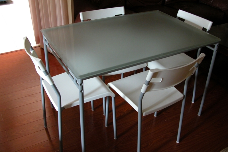 Widely Used Glass Dining Room Table Ikea – Cheekybeaglestudios In Ikea Round Glass Top Dining Tables (View 11 of 20)
