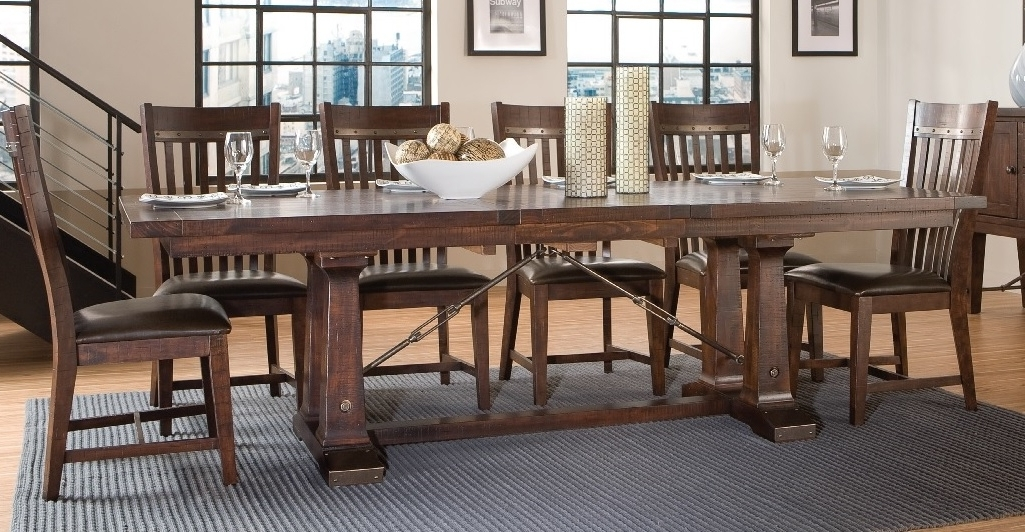 Widely Used Hayden Trestle Dining Tabe Inside Hayden Dining Tables (View 2 of 20)