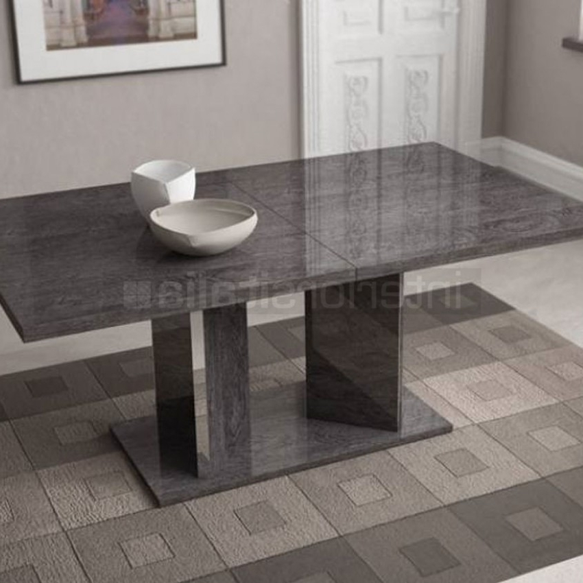 Widely Used High Gloss Dining Table (View 19 of 20)
