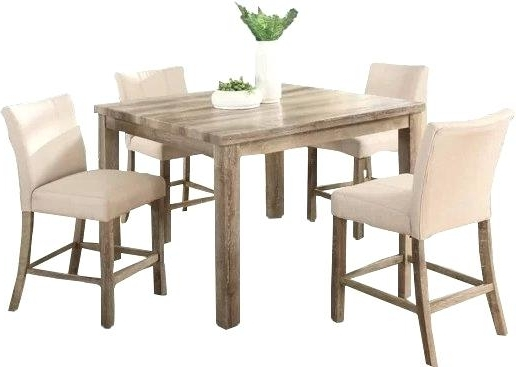 Widely Used Hyland 5 Piece Counter Sets With Bench With Counter Height Dining Room Table With Leaf Coviar And Bar Stools (View 20 of 20)
