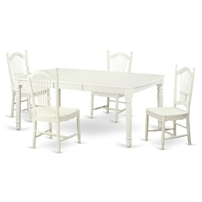 Widely Used Kirsten 5 Piece Dining Sets Regarding August Grove Pimentel Modern 5 Piece Dining Set In (View 9 of 20)