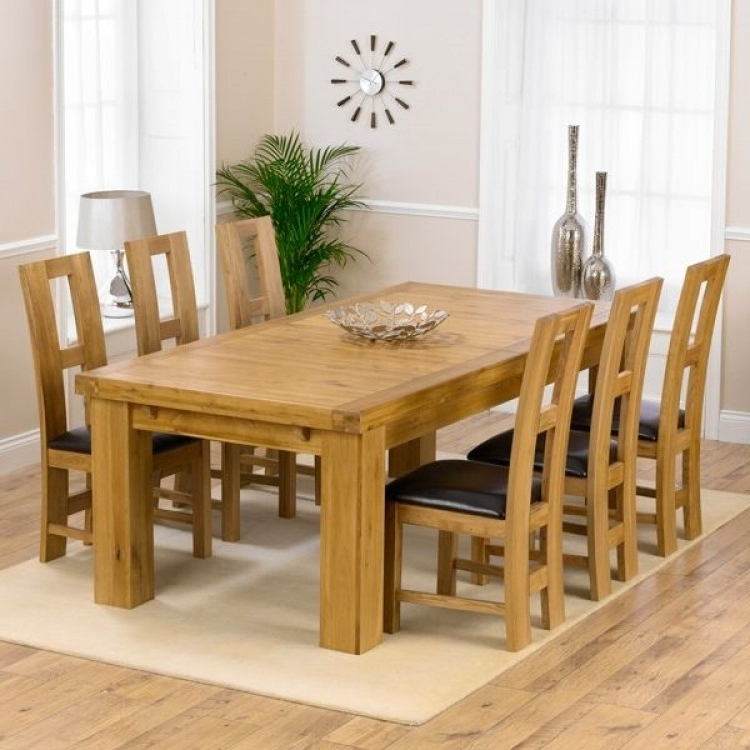 Widely Used Laurent Oak 230cm Xl Dining Table & John Louis Chairs Set Pertaining To Laurent Rectangle Dining Tables (View 15 of 20)