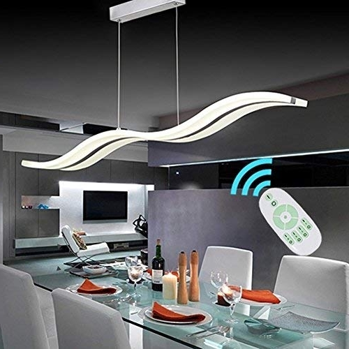 Widely Used Led Dining Tables Lights With Dining Led Room Lighting: Amazon (View 20 of 20)