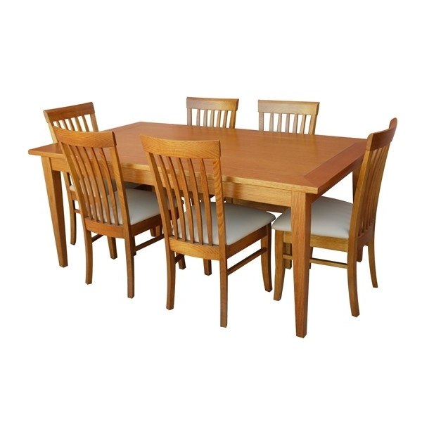 Widely Used Leon 7 Piece Dining Set (with Medium Dining Table) Throughout Leon Dining Tables (View 9 of 20)