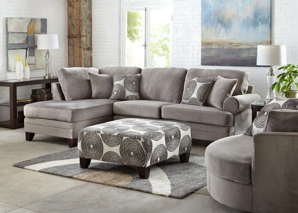 Widely Used Mcdade Graphite 2 Piece Sectionals With Laf Chaise With Regard To Grey Sectional Mcdade Graphite 2 Piece W Raf Chaise Living Spaces (View 3 of 15)
