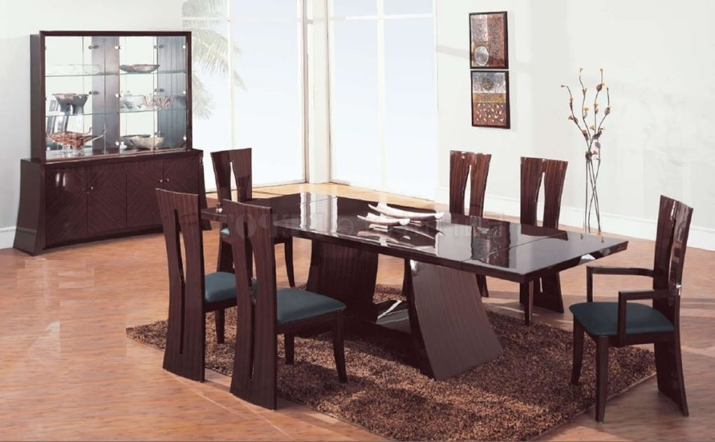 Widely Used New Design Contemporary Dining Room Sets Magnificent Modern Table Inside Contemporary Dining Tables Sets (View 20 of 20)