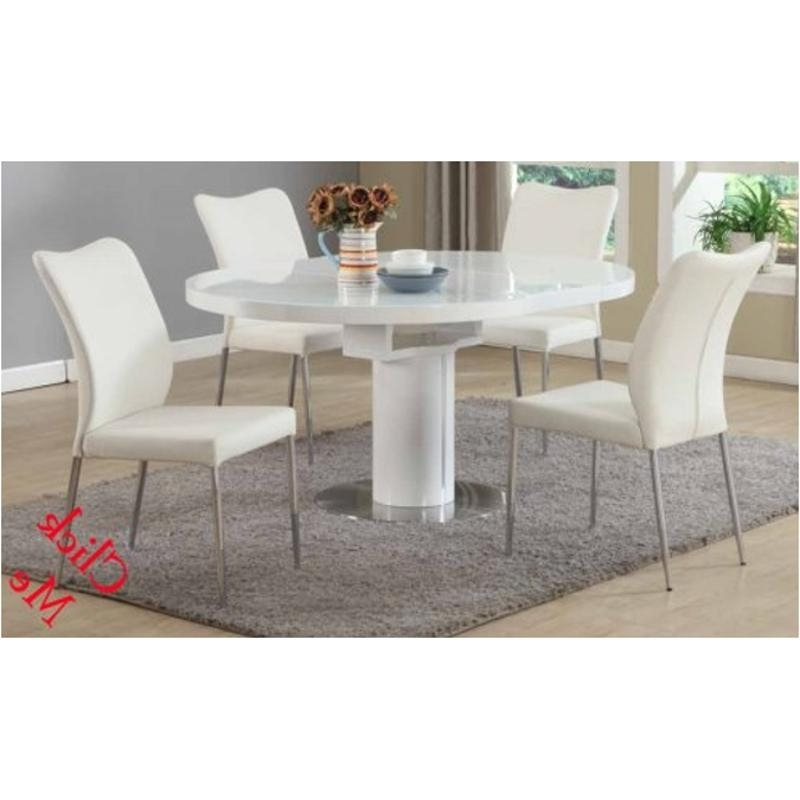 Widely Used Nora Dt Wht T Chintaly Imports Furniture Nora Nora Table – White Within Nora Dining Tables (View 20 of 20)