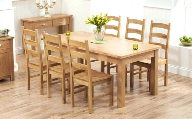 Widely Used Oak Dining Table Chairs 6 Oak Dining Table Sets Oak Extending Dining Intended For Extending Oak Dining Tables And Chairs (View 20 of 20)