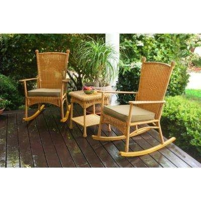 Widely Used Outdoor Tortuga Dining Tables With Tortuga Outdoor – Bistro Sets – Patio Dining Furniture – The Home Depot (View 17 of 20)