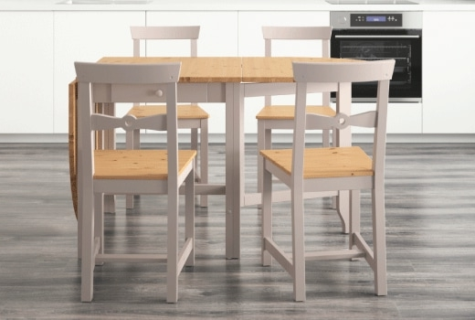 Widely Used Portland 78 Inch Dining Tables Regarding Dining Room Sets – Ikea (View 20 of 20)