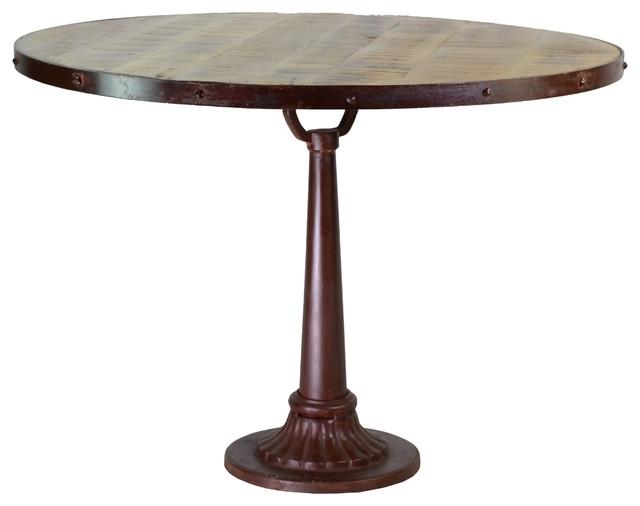 Widely Used Reclaimed Mango Wood Iron Dining Table – Traditional – Dining Tables Within Mango Wood/iron Dining Tables (View 18 of 20)