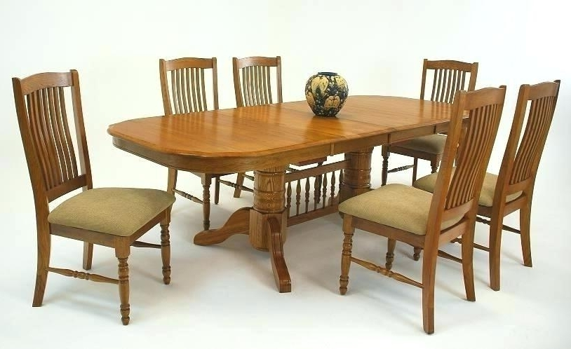 Widely Used Second Hand Oak Dining Chairs Inside Oak Chairs For Dining Table – Cupnsaucer (View 20 of 20)