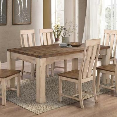 Widely Used Titus Dining Tables T3030 Modern Country Dining Table (Rectangle Regarding Country Dining Tables (View 6 of 20)