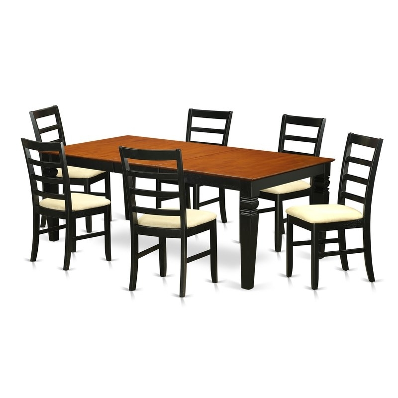 Widely Used Wooden Importers Logan 7 Piece Dining Set (View 15 of 20)