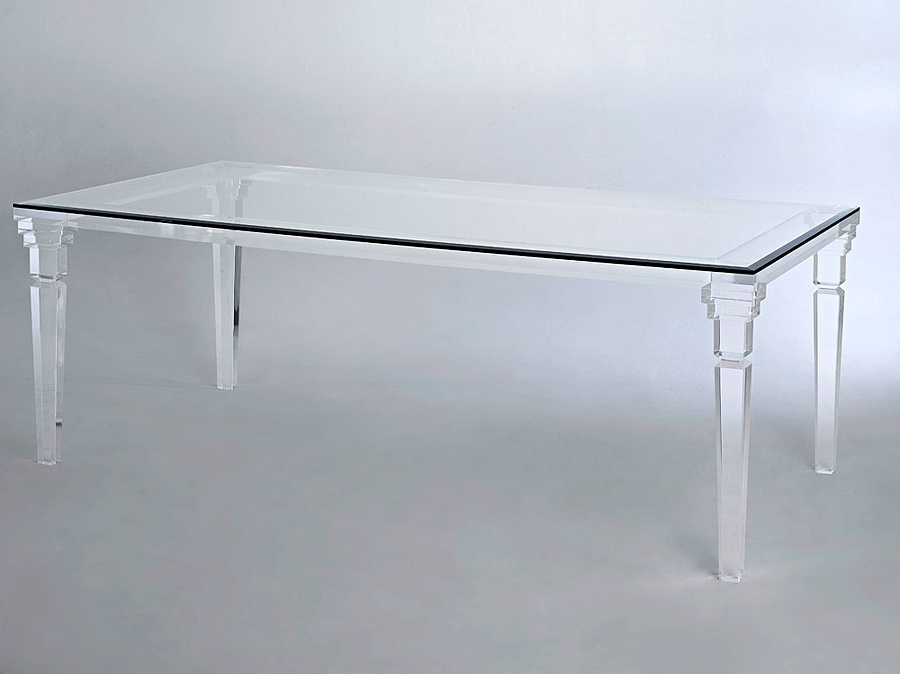 With Regard To Acrylic Dining Tables (View 20 of 20)