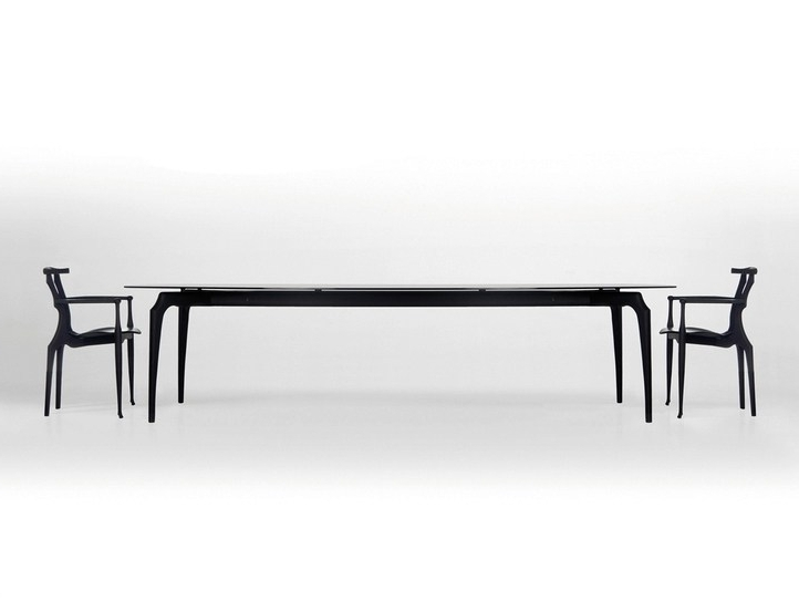 Wood And Glass Tablebd Barcelona Design Design Oscar (View 18 of 20)