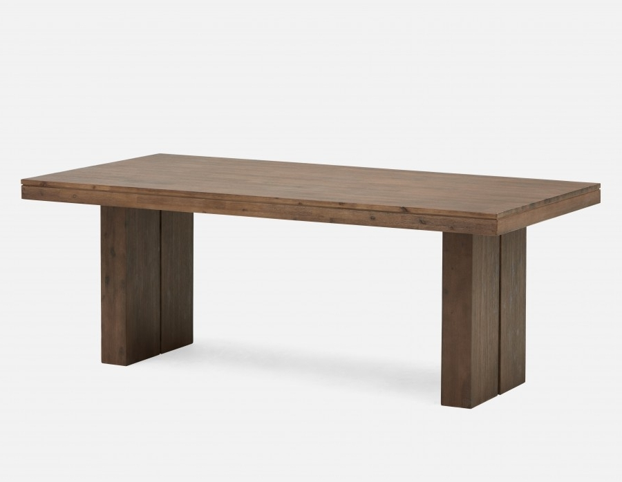 Wood Dining Tables Regarding Most Popular Cologne Acacia Wood Dining Table (View 13 of 20)