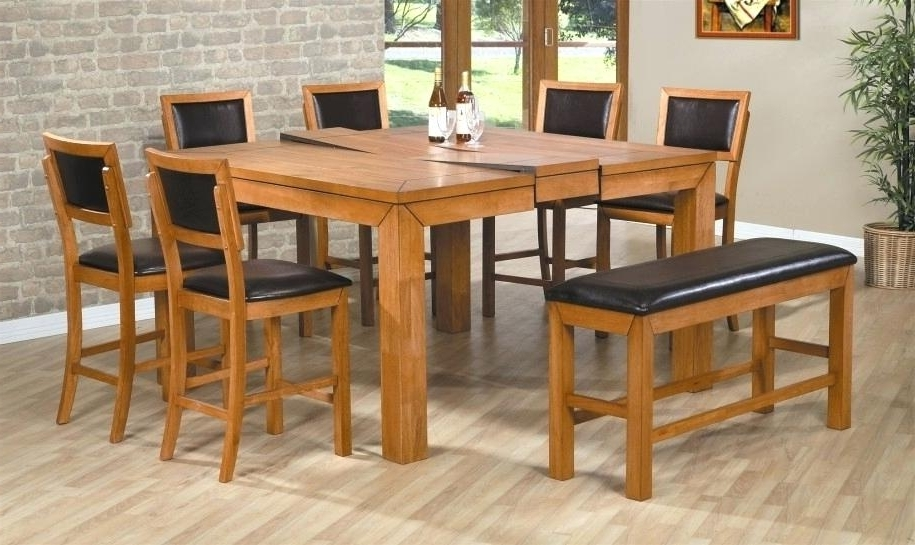 Wood Folding Dining Tables In Well Known Decoration: Fold Away Dining Table And Chairs (View 17 of 20)