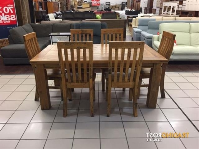 Woolshed Dining Set (7 Pieces) (View 19 of 20)