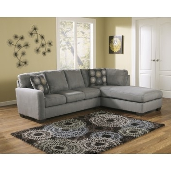 Zella – Charcoal 2 Pc. Laf Corner Chaise Sectional (Gallery 15 of 15)