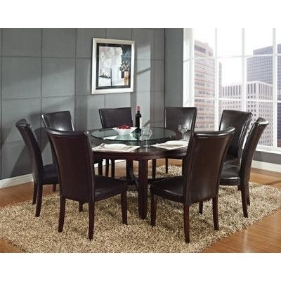 Featured Photo of Caden 5 Piece Round Dining Sets With Upholstered Side Chairs