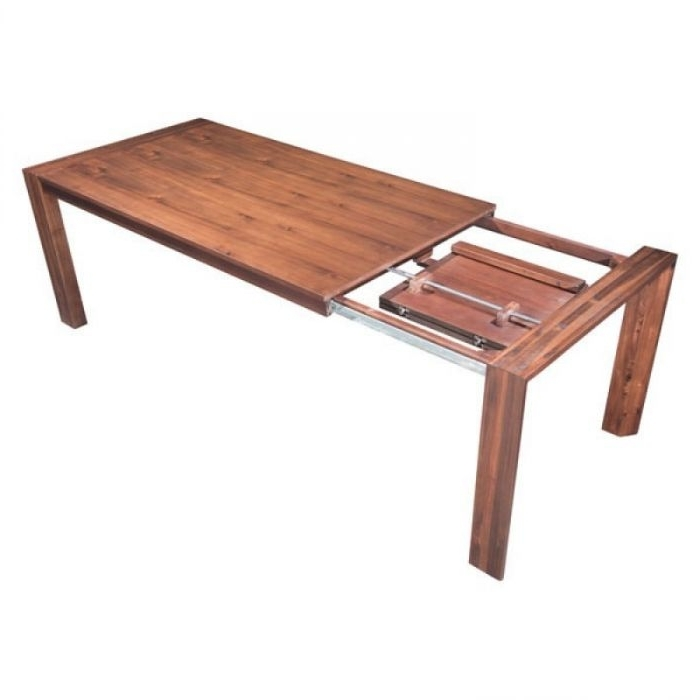 Zuo Modern 100588 Perth Extension Dining Table – Chestnut For Fashionable Perth Dining Tables (View 20 of 20)