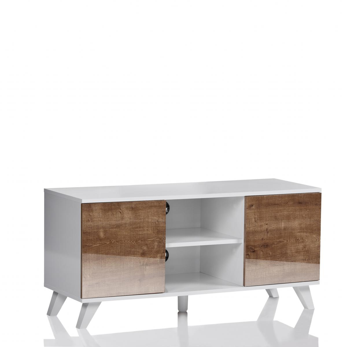 0413 Ukcf Milan White Gloss Corner Tv Stand 150Cm Within 2017 Corner Tv Unit White Gloss (Gallery 19 of 20)