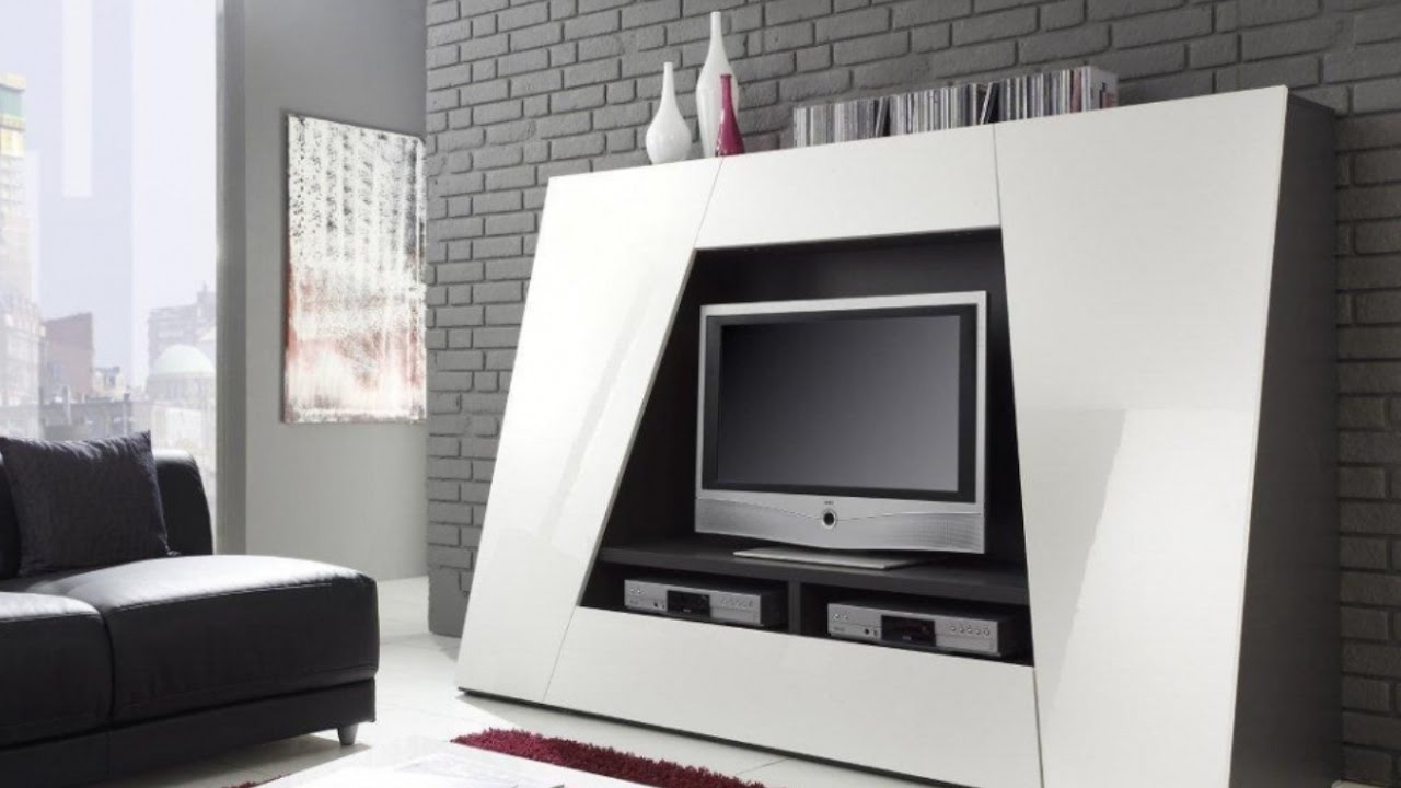100 Cool Ideas! – Tv Stands! – Youtube Within Recent Cool Tv Stands (View 13 of 20)