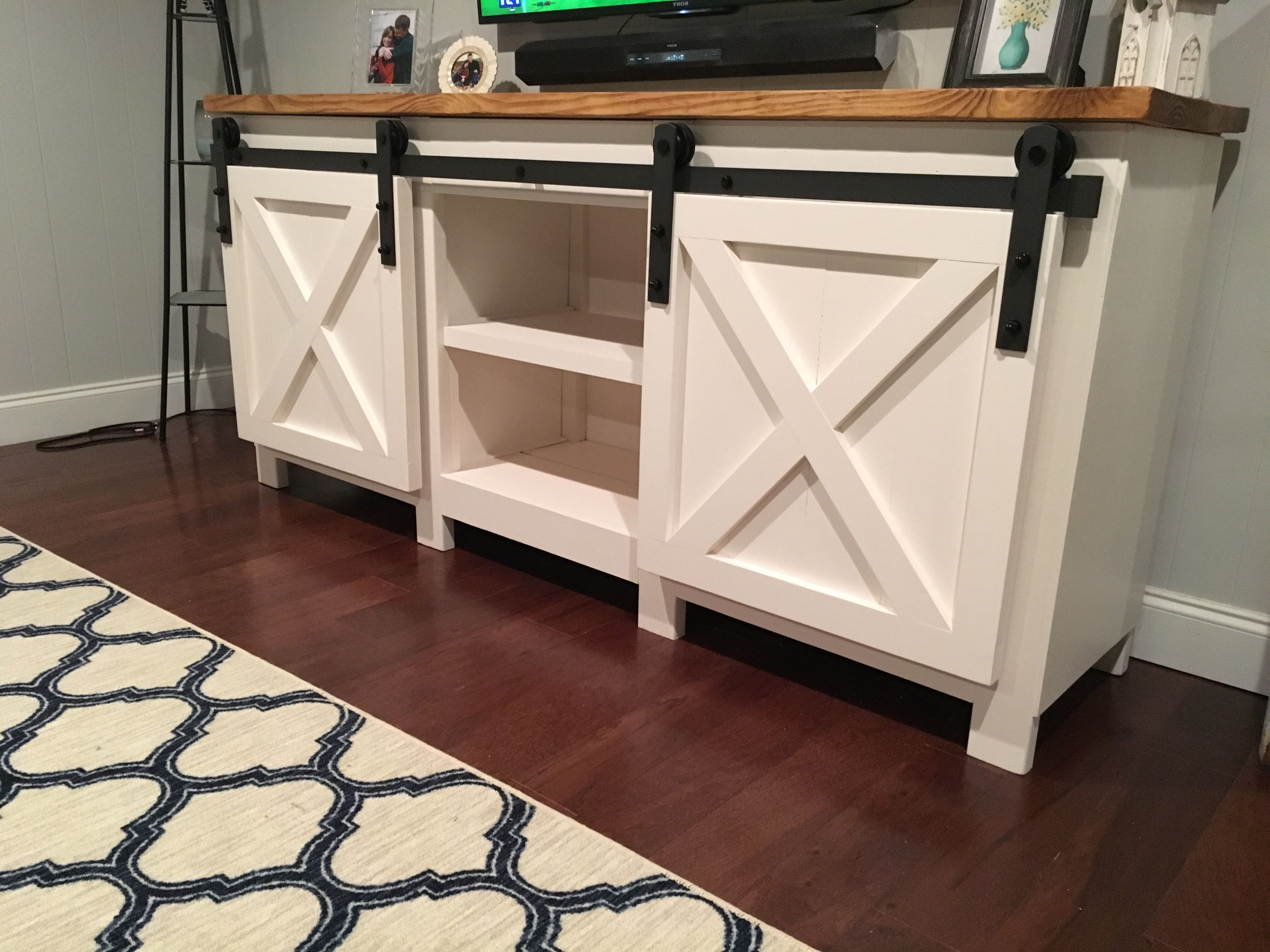 11 Free Diy Tv Stand Plans You Can Build Right Now Pertaining To Favorite Rustic Wood Tv Cabinets (Gallery 15 of 20)