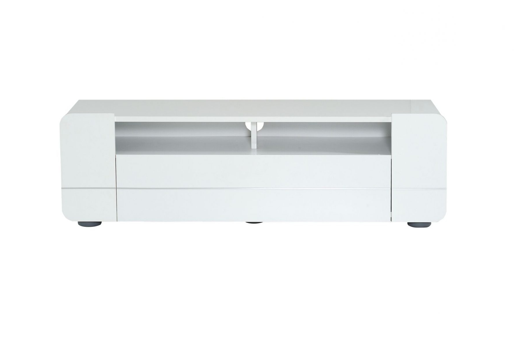 150Cm Tv Units Within Best And Newest Bump Tv Unit White Gloss (View 10 of 20)